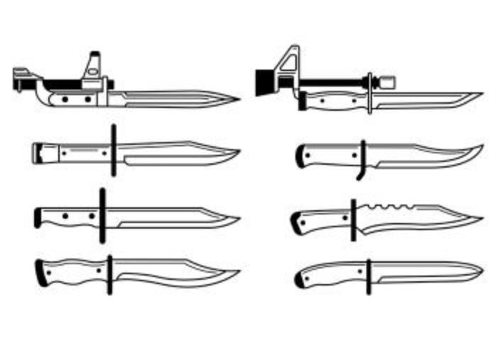 Conjunto De Iconos Bayonet
