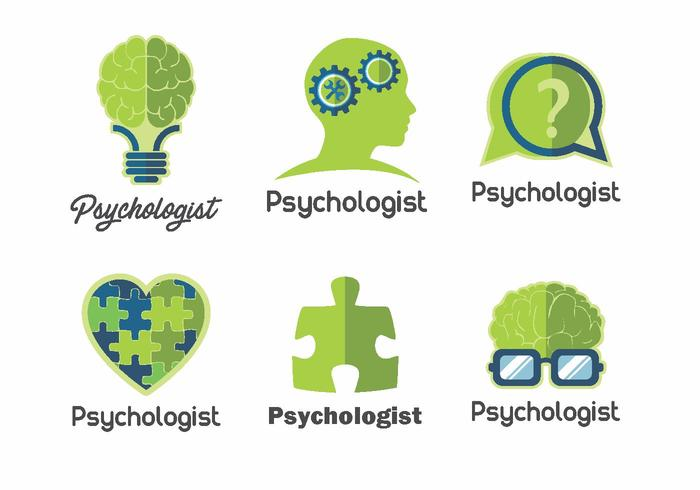 Psicólogo Logo Vector Pack