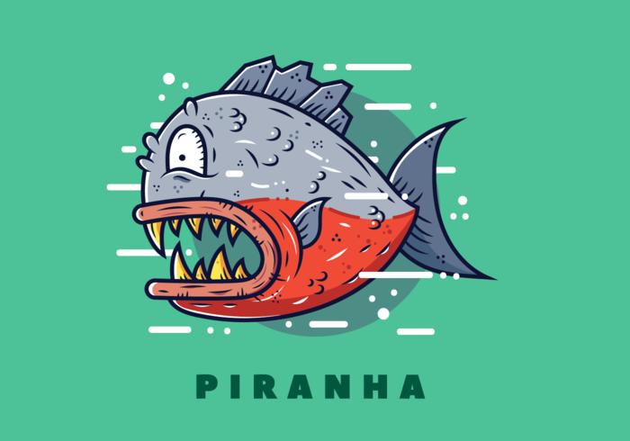 Free Piranha Vector