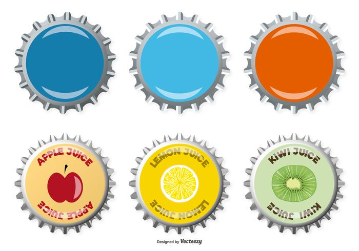 Bottle Stopper Vector Collection