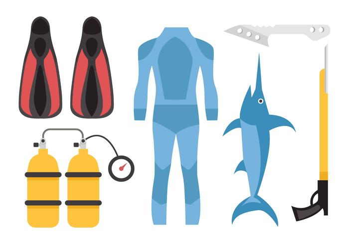 Free Spearfishing Vector