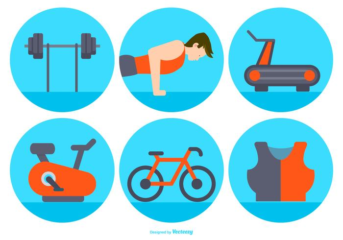 Excercise Vector Icon Collection