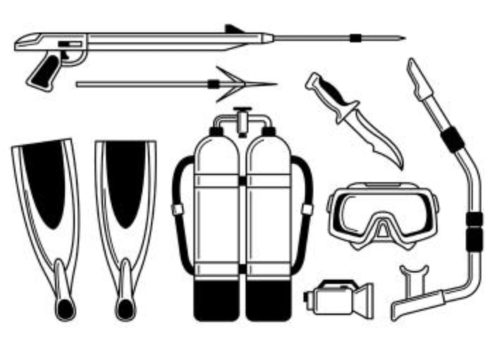 Icon Of Spearfishing