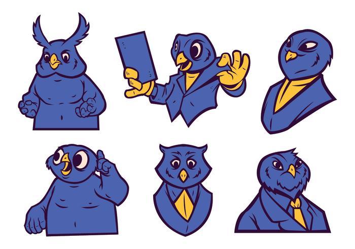 free owl mascot vector download free vector art stock graphics