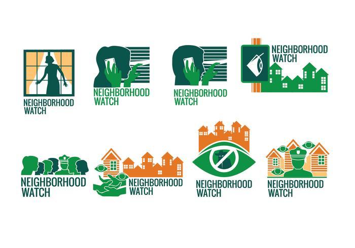 Neighborhood Watch Sign Vector