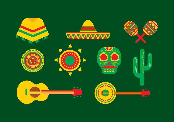 Mexico Icon Free Vector