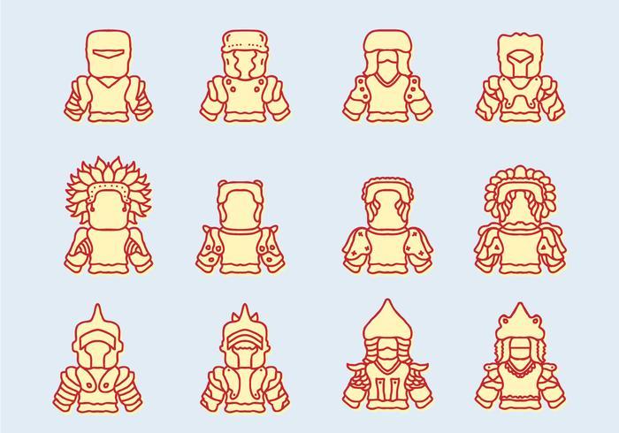 Mongolië iconen