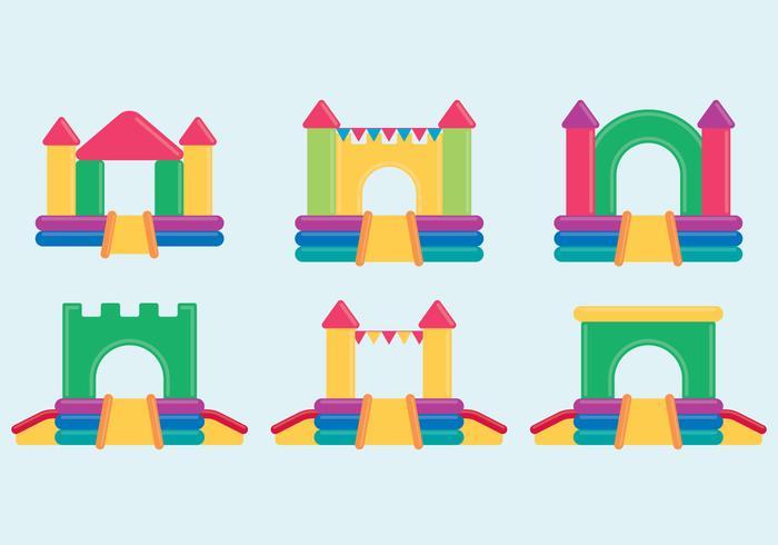 Conjunto do castelo bouncy