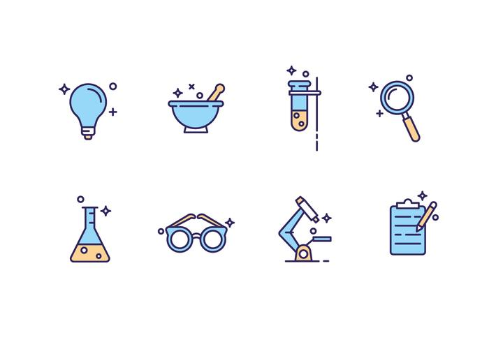 Free Science Laboratory Icons