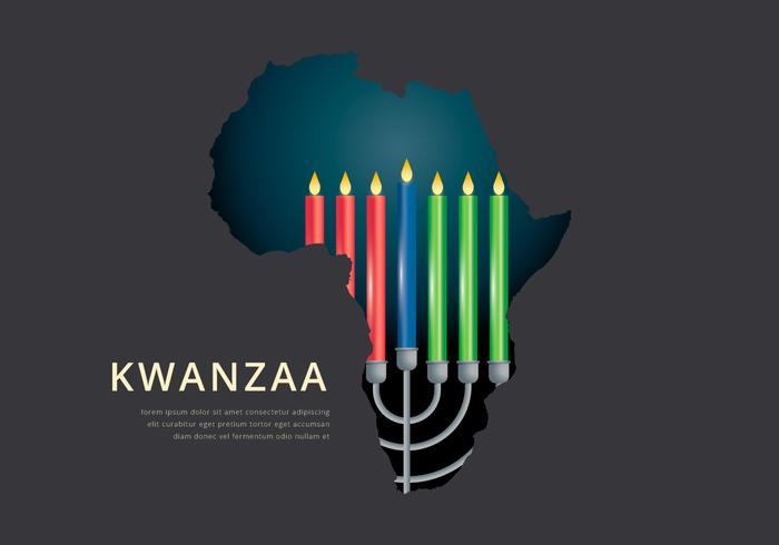 Kwanzaa Illustration Greetings Vector