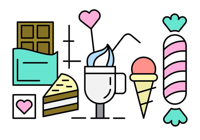 Free Sweets and Candy Icons