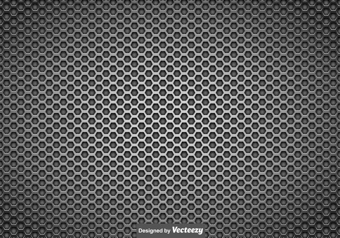 Vector Metallic Speaker Grill Background