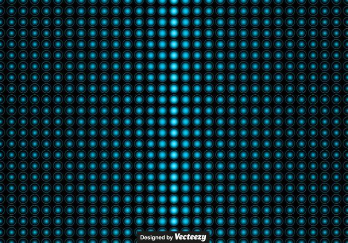 vector LED lichten patroon
