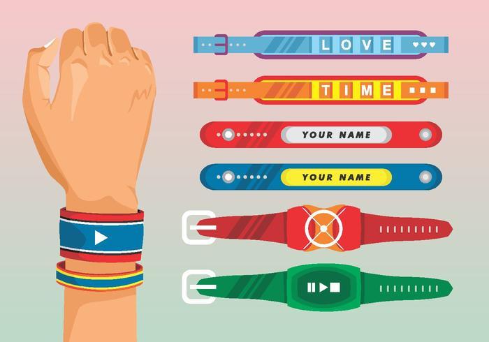 Armband Vektor Set
