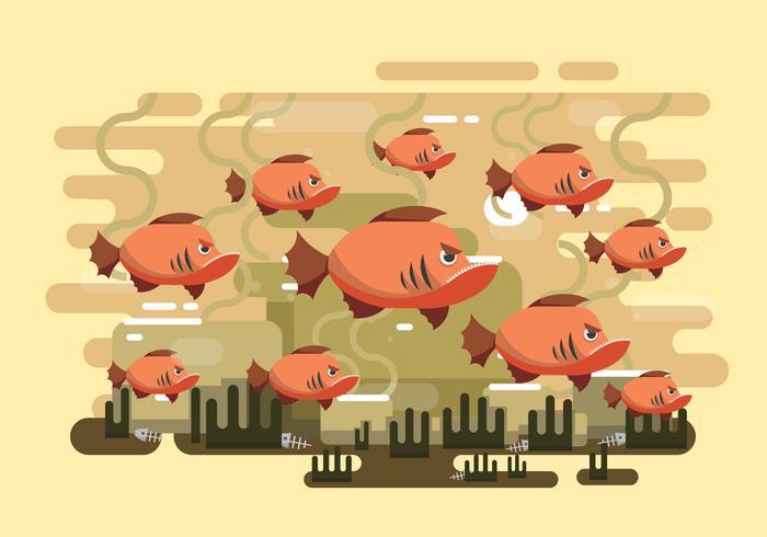 Vector Piranha Libre