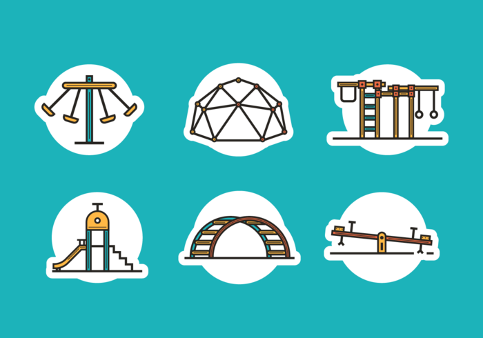 Jungle Gym Free Vector Pack