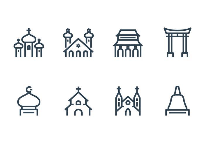 Icona di costruzione religiosa