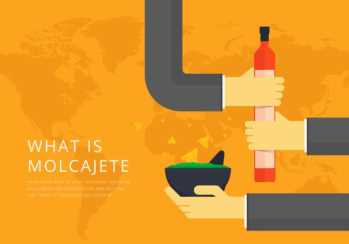 Moljacete Mexican Traditional Food and Grinding Tools