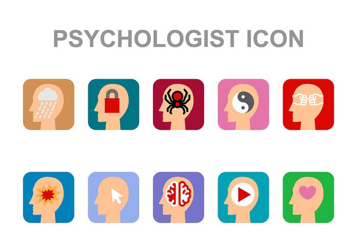 Psychologe Icon Vektor