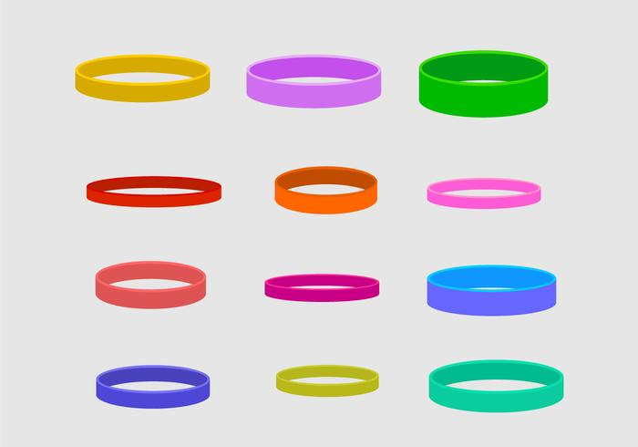 Wristband Vector Collection