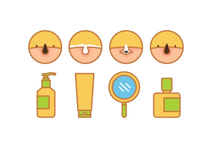 Skin Problems Vector Pack