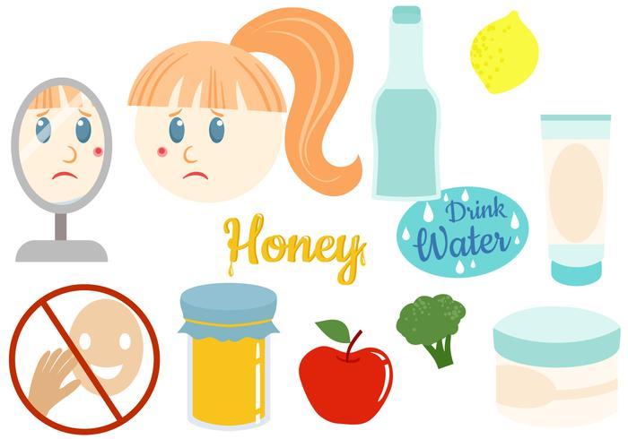 Gratis Anti Acne Vectoren