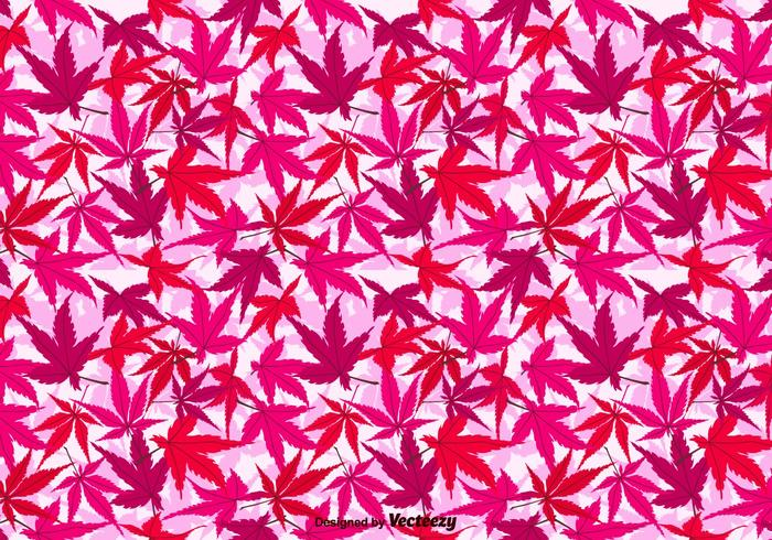 Japanese Maple Vector Background