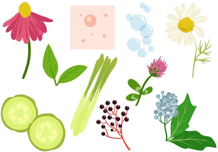 Gratis växter Acne behandling