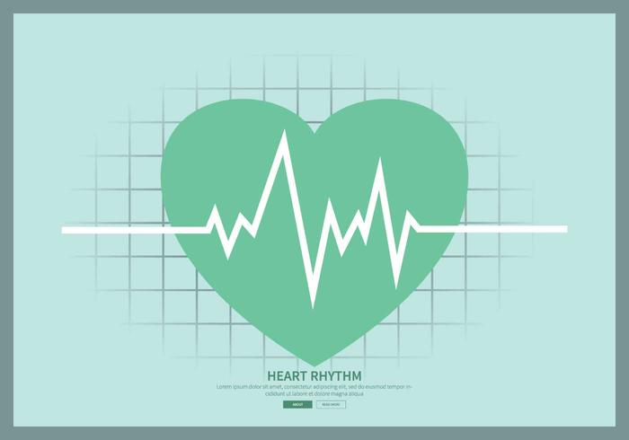 Free Heart Rhythm Illustration