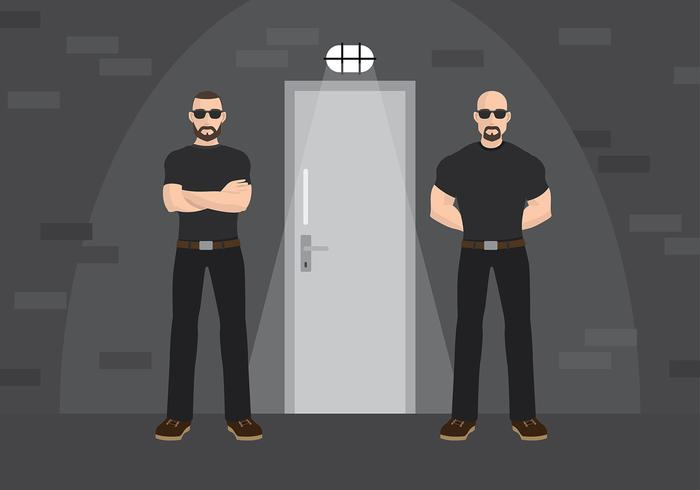 Bouncer Gratis Vector
