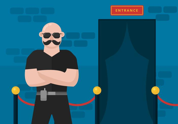 Free Bouncer Vector Illustration