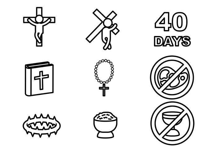 Lent Vector Icon