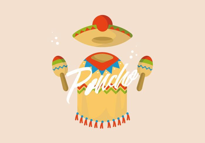 poncho illustration