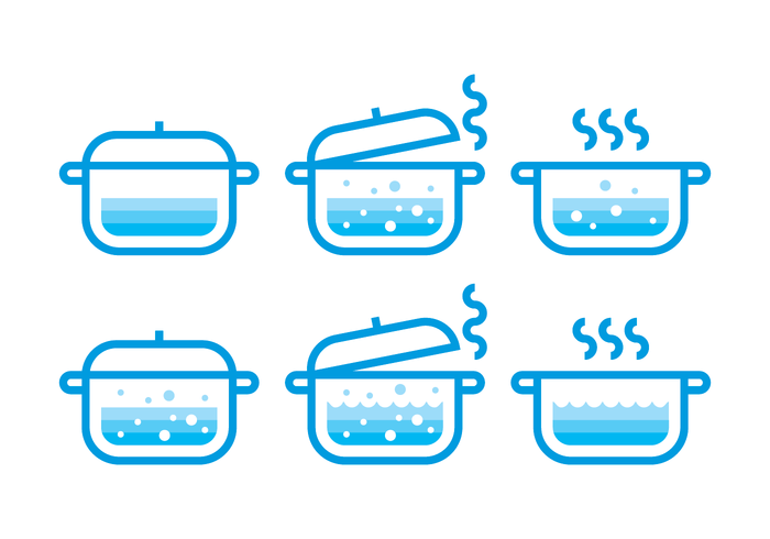 Boiling Water Vector