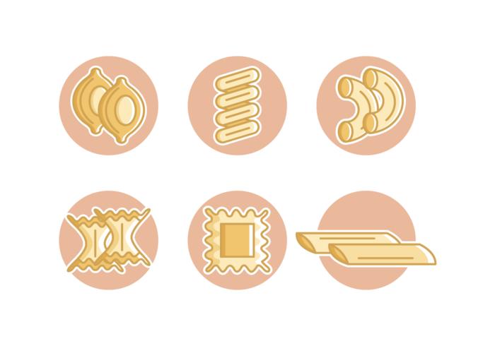 Macaroni Free Vector Pack