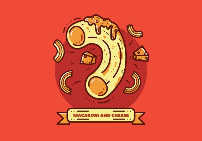 Vector Macaroni Gratuit