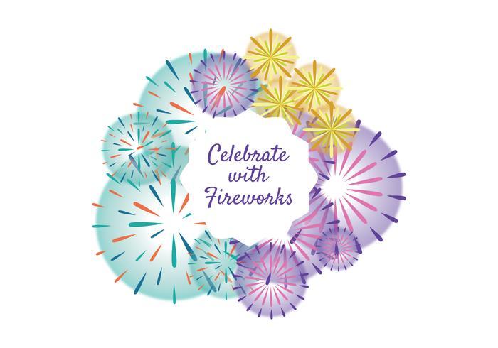 Fireworks Celebration Vector