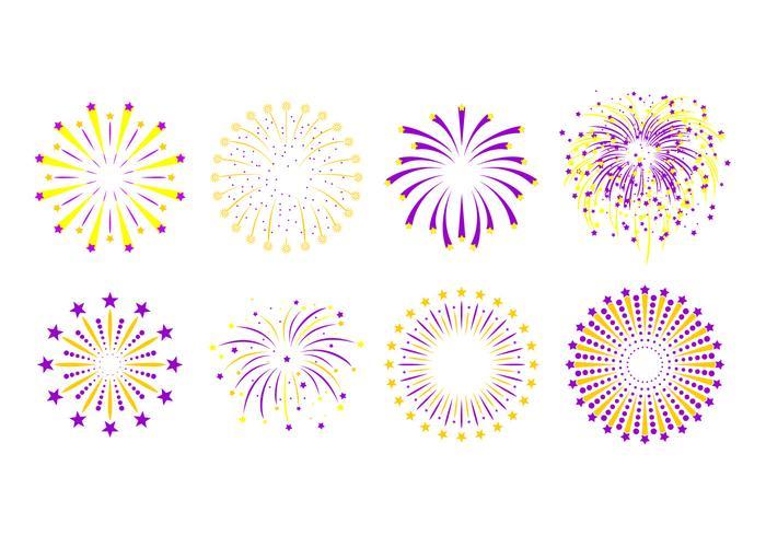 stjärna fyrverkerier fria vektorer