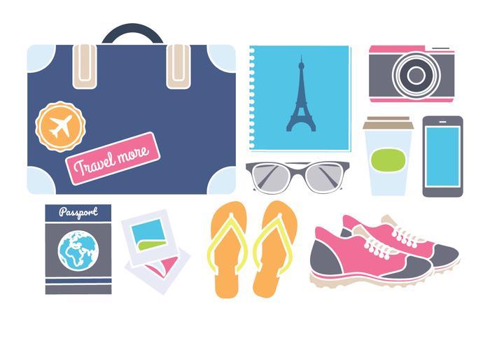 Vector Travel Essentials