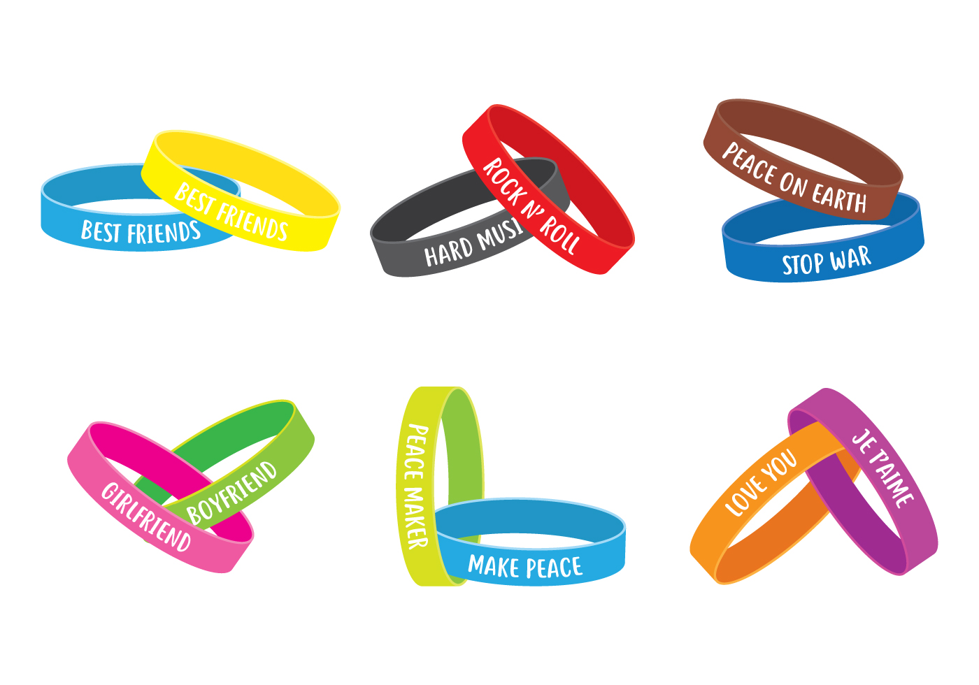 Wristband Free Vector Art 5255 Free Downloads