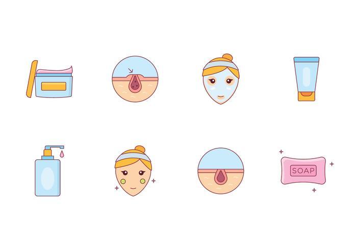 Ícones de Skincare