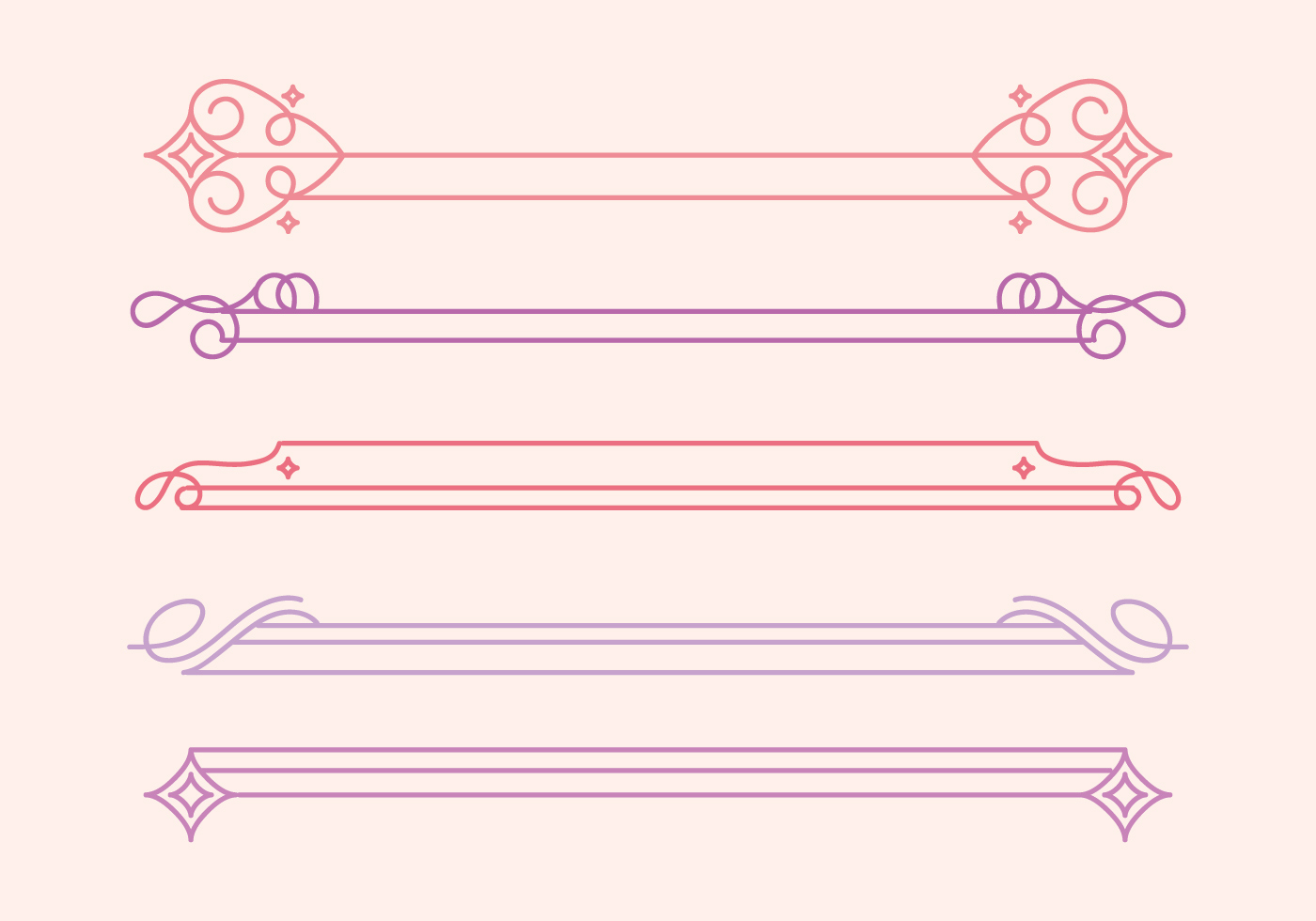 Cute Divider Free Vector Art 192 Free Downloads
