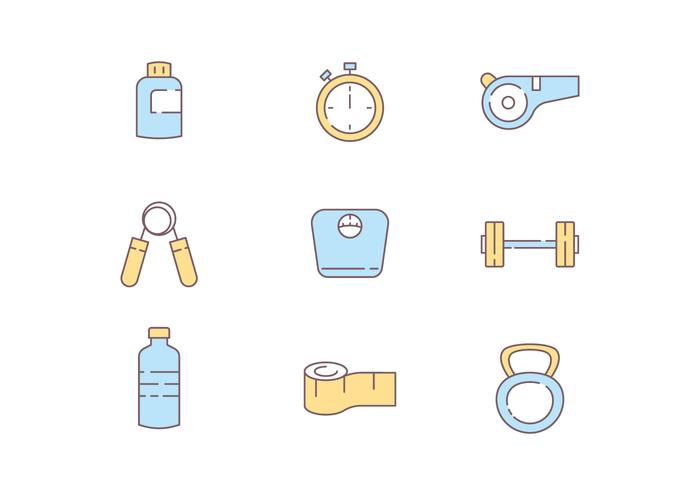 Icons of Fitness Tools