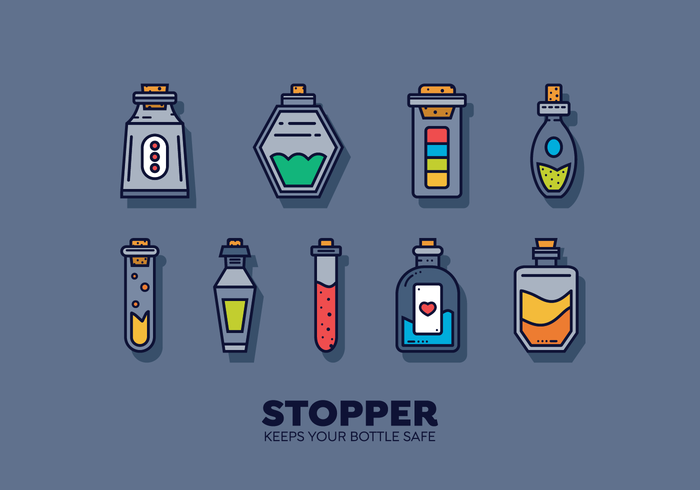 Free Stopper Vector