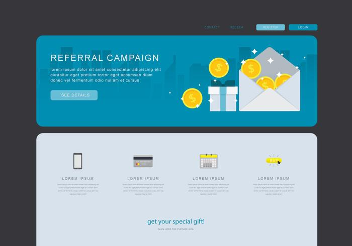 Referral Marketing Content, Business Marketing Communication  Web