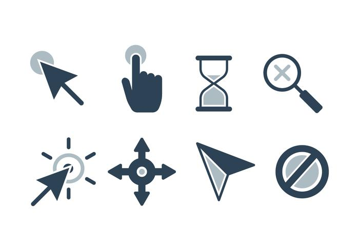 Free Mouse Cursor Vector Icons