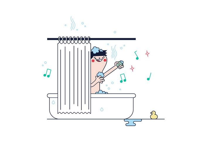 Free Shower Vector