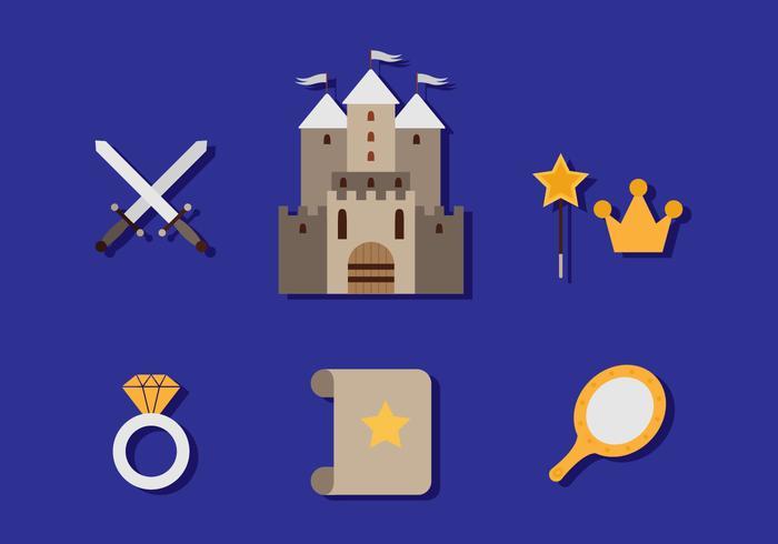 Icono de Abadía plana