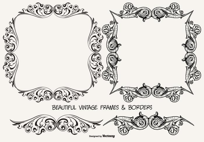 Vintage Frames and Borders Collection