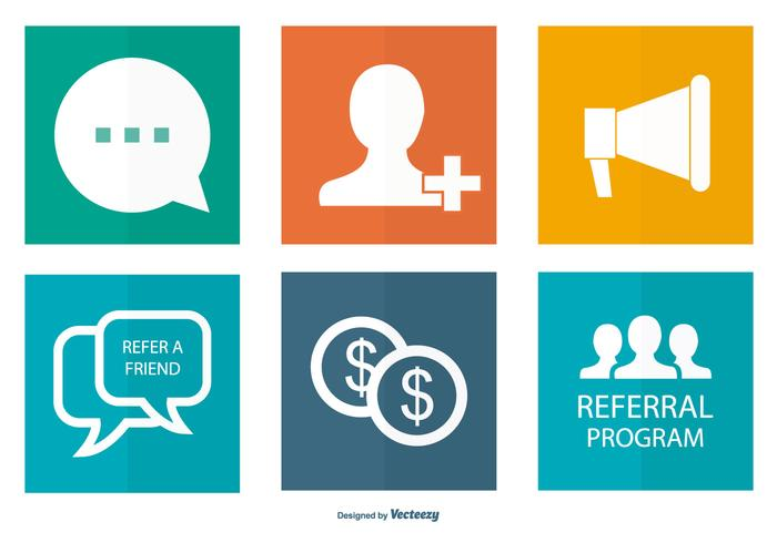 Referral Icon Collection